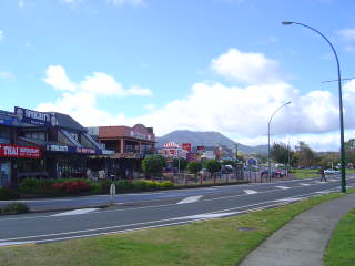 The city of Taupo